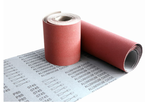 Aluminum oxide sanding cloth